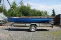Гребная лодка Удалец